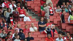 Indosport - Klub Liga Inggris, Arsenal berencana untuk menghadirkan kembali para pendukungnya di stadion Emirates sama seperti sebelum adanya pandemi virus corona.