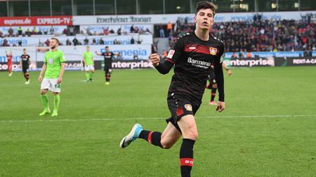 Chelsea selangkah lagi mendatangkan Kai Havertz dari Bayer Leverkusen memanfaatkan hubungan baik incarannya dengan pemain anyarnya, Timo Werner. - INDOSPORT