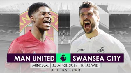 Prediksi Manchester United vs Swansea City. - INDOSPORT