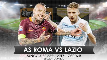 Prediksi AS Roma vs Lazio. - INDOSPORT