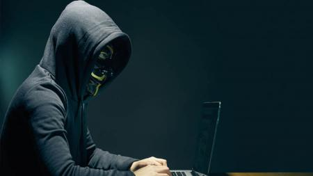 Ilustrasi hacker. - INDOSPORT