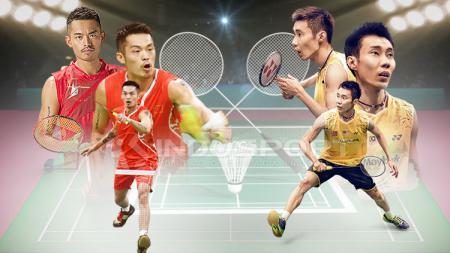 Lin Dan vs Lee Chong Wei. - INDOSPORT