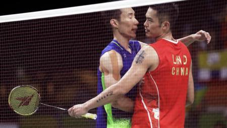 Lee Chong Wei dan Lin Dan. - INDOSPORT