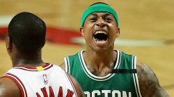 Bintang Boston Celtics, Isaiah Thomas.