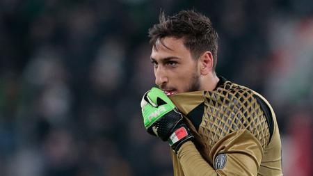 Kiper andalan AC Milan, Gianluigi Donnarumma. - INDOSPORT