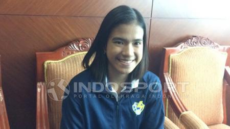 Pevoli muda di tim putri Jakarta Elektrik PLN, Shella Bernadetha - INDOSPORT