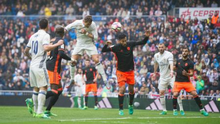 Real Madrid vs Valencia. - INDOSPORT