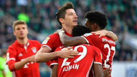 Wolfsburg vs Bayern Munchen. - INDOSPORT