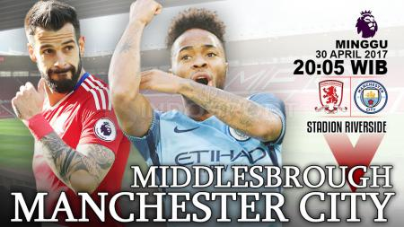 Prediksi Middlesbrough vs Manchester City. - INDOSPORT