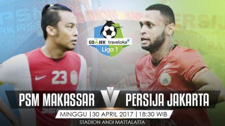 PSM Makassar vs Persija Jakarta. - INDOSPORT