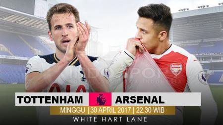 Prediksi Tottenham Hotspur vs Arsenal. - INDOSPORT