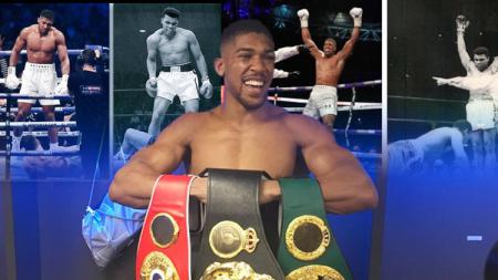 Anthony Joshua. - INDOSPORT
