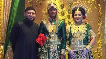 Ardan Aras menikah jelang pertandingan PSM kontra Persija Jakarta. - INDOSPORT