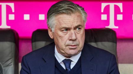 Carlo Ancelotti ketika menjadi pelatih Bayern Munchen. - INDOSPORT