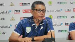 Indosport - Pelatih Persela Lamongan, Heri Kiswanto.