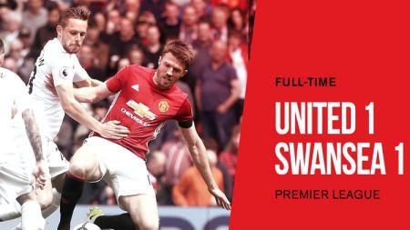 Manchester United vs Swansea City. - INDOSPORT