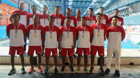 Timnas Polo Air Indonesia. - INDOSPORT
