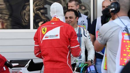 Sebastian Vettel dan Felipe Massa - INDOSPORT