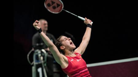 Dari kompetisi Malaysia Masters 2020 terdapat kejutan yaitu kebangkitan yang ditunjukkan Carolina Marin, atlet bulutangkis Spanyol yang sempat alami cedera menakutkan tahun lalu. - INDOSPORT