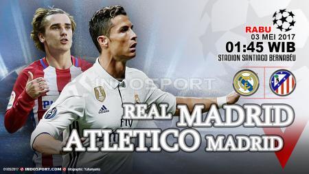 Prediksi Real Madrid vs Atletico Madrid. - INDOSPORT