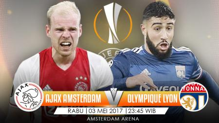 Prediksi Ajax Amsterdam vs Olympique Lyon. - INDOSPORT