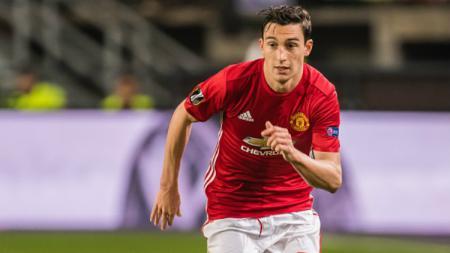 Bek sayap Manchester United, Matteo Darmian. - INDOSPORT
