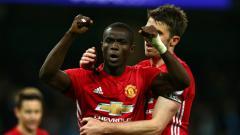 Indosport - Bek andalan Manchester United, Eric Bailly.