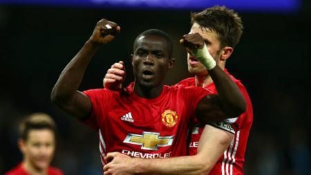 Bek andalan Manchester United, Eric Bailly. - INDOSPORT