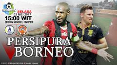 Indosport - Prediksi Persipura vs Borneo FC.