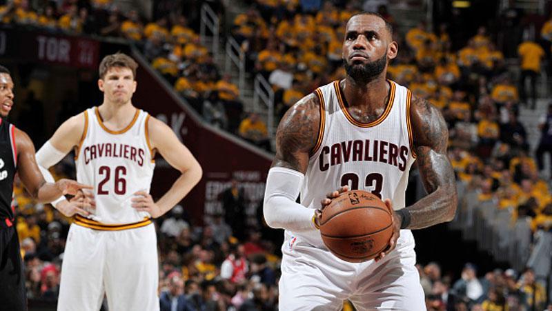 LeBron James (Cleveland Cavaliers) Copyright: David Liam Kyle/NBAE via Getty Images