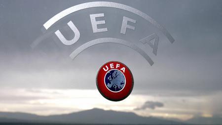 Logo UEFA. - INDOSPORT