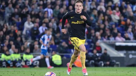 Penyerang Atletico Madrid, Kevin Gameiro. - INDOSPORT