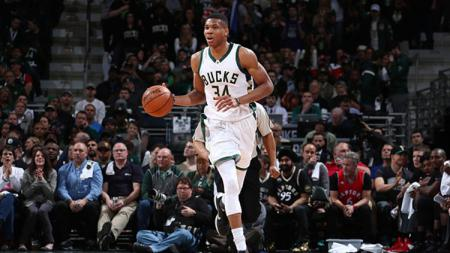 Bintang Milwaukee Bucks, Giannis Antetokounmpo. - INDOSPORT