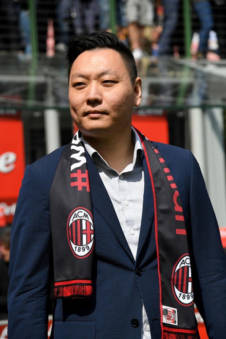 Han Li, pemilik baru AC Milan. Copyright: Claudio Villa/GettyImages