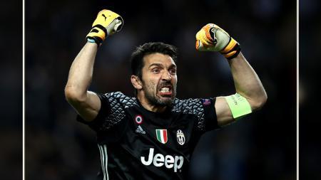Gianluigi Buffon, kiper dan kapten Juventus. - INDOSPORT