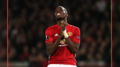 Indosport - Paul Pogba, gelandang serang Man United.