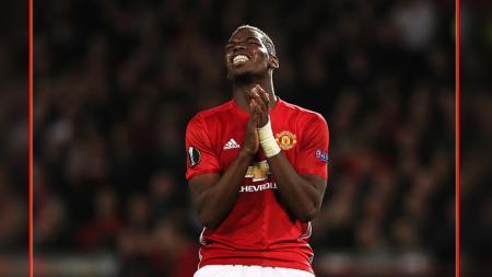 Paul Pogba, gelandang serang Man United. - INDOSPORT