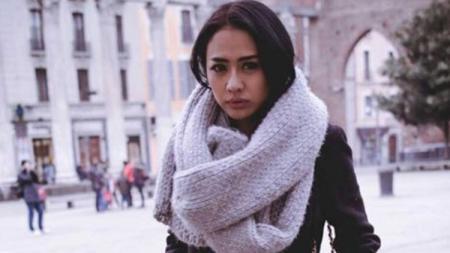 Model majalah dewasa, Jelly Jelo yang juga Bobotoh Persib Bandung. - INDOSPORT