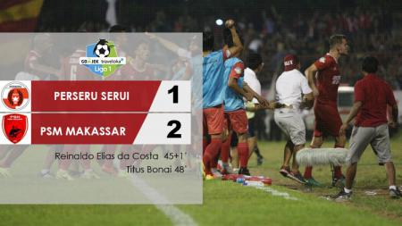 Tepat pada 4 Mei 2017 lalu, PSM Makassar berhasil mengukir sejarah manis di Stadion Marora dengan cucuran darah dari para pemain saat melawan Perseru Serui. - INDOSPORT