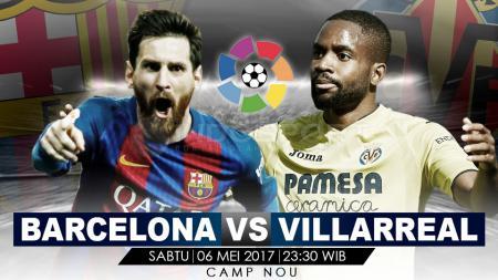 Barcelona vs Villarreal. - INDOSPORT