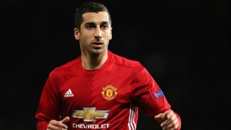 Gelandang andalan Manchester United, Henrikh Mkhitaryan. - INDOSPORT