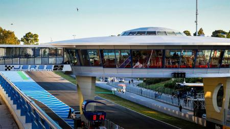 Dorna Sports bersama Pemerintah Andalusia dan Dewan Kota Jerez telah mengajukan proposal kepada Pemerintah Spanyol untuk gelar 2 balapan MotoGP di Jerez. - INDOSPORT