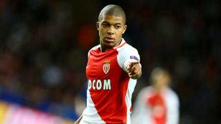Bintang AS Monaco, Kylian Mbappe. - INDOSPORT