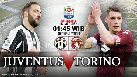 Juventus vs Torino. - INDOSPORT