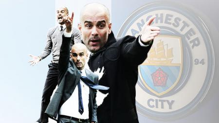 Pep Guardiola, manajer Manchester City. - INDOSPORT