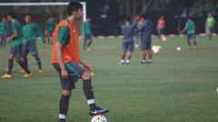 Indosport - George Brown saat mengikuti seleksi Timnas Indonesia U-19.