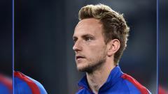Indosport - Ivan Rakitic, gelandang serang Barcelona.