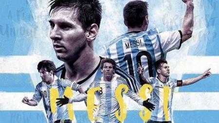 Lionel Messi. - INDOSPORT