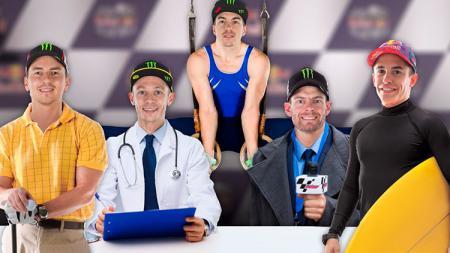 Dani Pedrosa mencoba meramal nasib Valentino Rossi, Maverick Vinales, dan Marc Marquez bila tidak menjadi pembalap MotoGP. - INDOSPORT