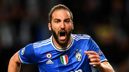 Striker Juventus, Gonzalo Higuain. - INDOSPORT